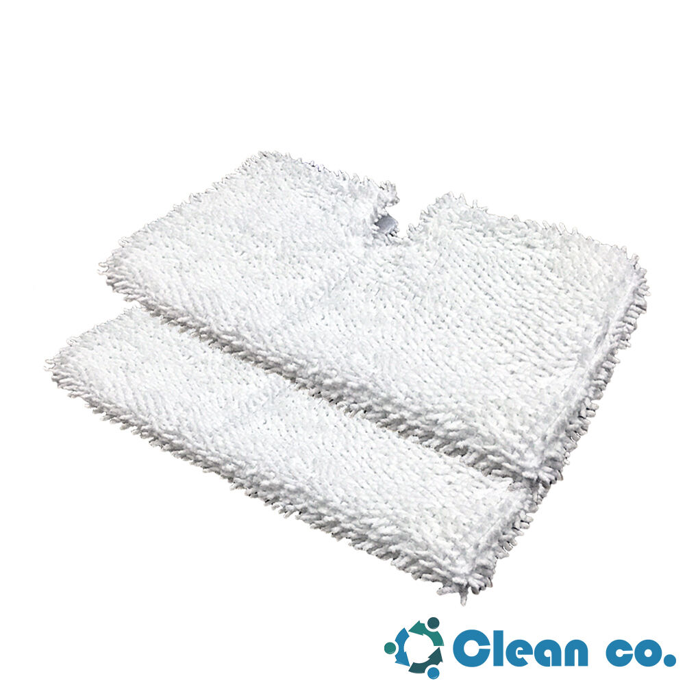 Clean Co. Replacement Pads for Shark Steam Pocket Mop Pad S3501 S3601 S3901 x2