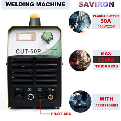 Air Plasma Cutter 50a Pilot Arc Hf Digital Inverter 110220v Cutting Machine