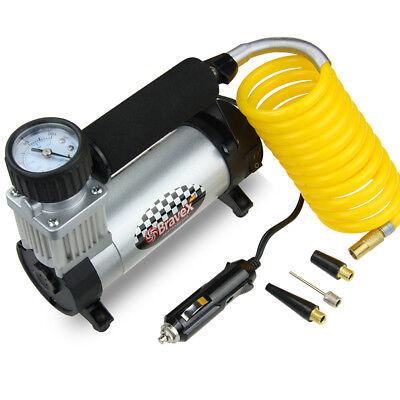 Car Air Compressor DC 12V Portable Tire Inflator Auto for Car Basketball