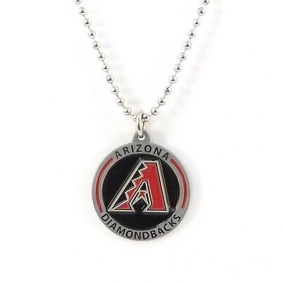 ARIZONA DIAMONDBACKS LARGE PENDANT NECKLACE 21201A new baseball sports jewelry Arizona Diamondbacks Chain Necklace