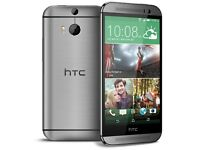 "HTC One M8 - 16GB - (Unlocked) Smartphone 5"" Android"