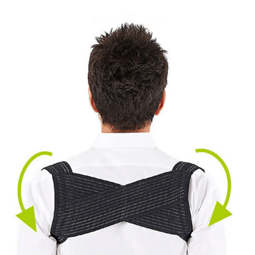 Adjustable Posture Corrector Corset Back Brace Relieves Neck Back and Spine Pain Health & Beauty