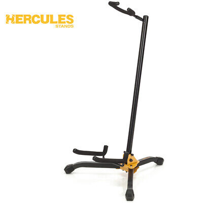 NEW Hercules GS405B Shoksafe Guitar Stand for Acoustic, Electric and Bass