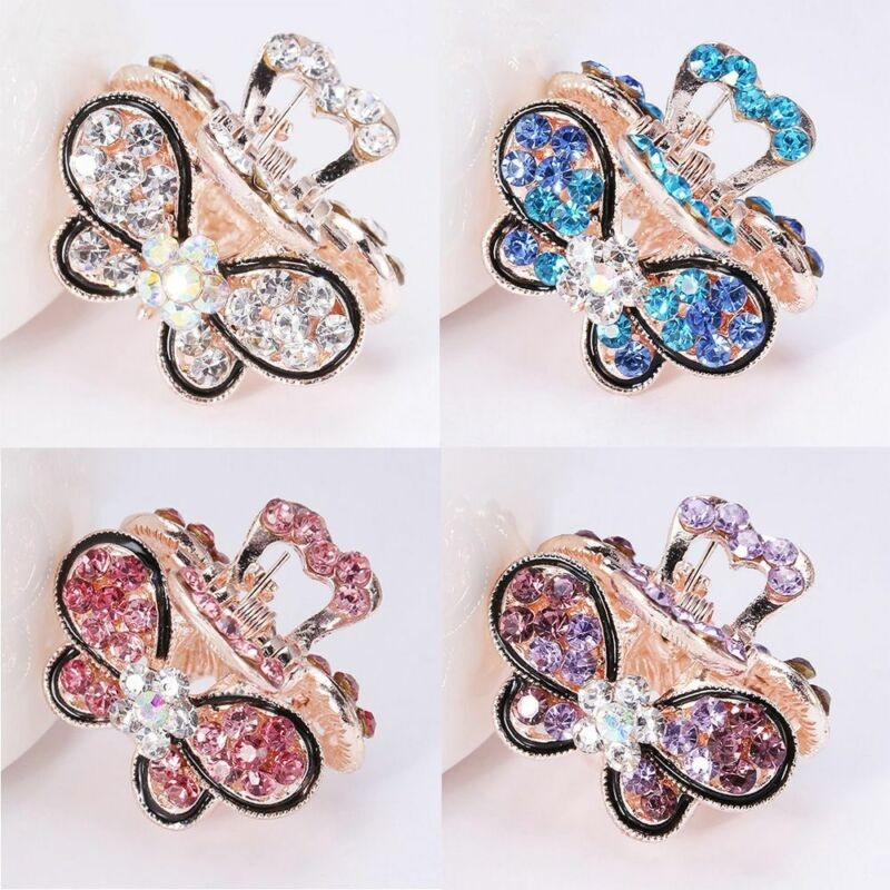 Gifts Claw Barrette Mini Butterfly Hairpins Hair Clip Claw C