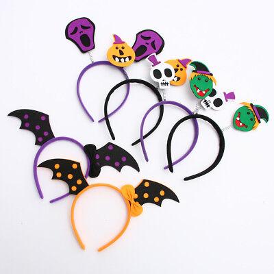 Halloween Pumpkin Bat (Halloween Pumpkin Bat Party Props Headbands Dress up Accessories Cute)