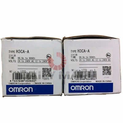 New Omron H3ca-a Solid-state Timer 24-240vacvdc