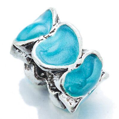 Бисер 5Pcs Silver Jewelry Making Heart