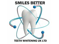 Laser Teeth Whitening £50 or 2 people for £90. Top ups £25.00