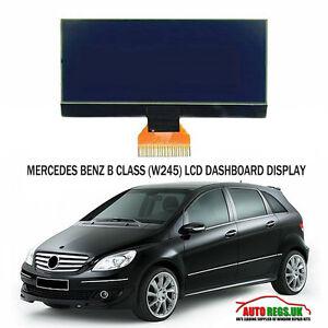 MERCEDES-BENZ-CLASE-B-W245-LCD-VDO-Monitor-Pantalla-Tablero-salpicadero-NUEVO