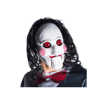 Adult Saw 9 Movie Billy 3/4 Jigsaw Halloween Mask](Jigsaw Masks Halloween)