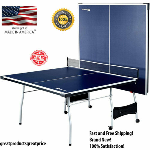 Indoor-Outdoor Play MD Sports 4 Piece Table Tennis Ping Pong Kids Fold-Up 9