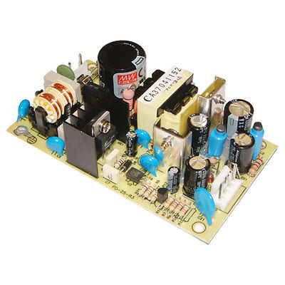 Mean Well PD-2515 AC to DC Power Supply Open Frame Dual Output +15 Volt -15 Volt Dc Power Supply Dual Output