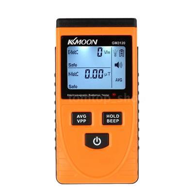 Kkmoon Lcd Digital Electromagnetic Radiation Detector Emf Meter Dosimeter