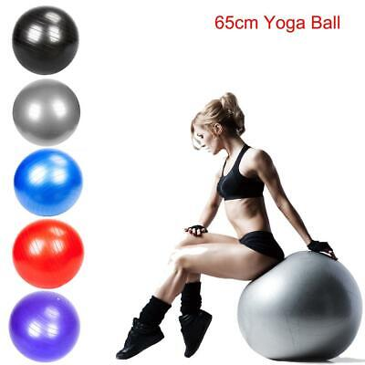 Exercise Ball 65cm for Fitness Stability Balance Yoga Workou