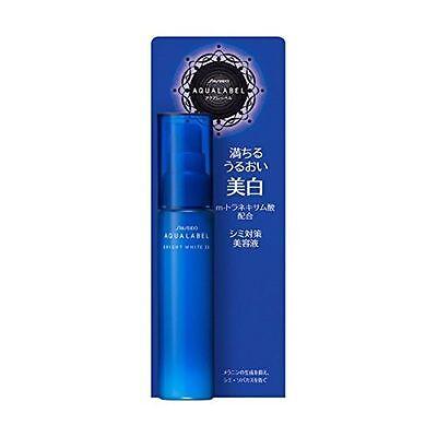 ☀ Shiseido Aqualabel Whitening Bright White EX Skincare Essence Serum 45ml Jpn ☀