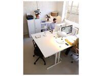 Desk space available in a creative studio E1