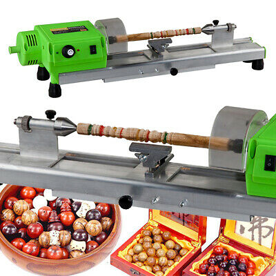 Mini Lathe Machine Diy Wood Lathe Mini Bench Drill For Plastic Wood 480w Us