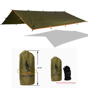 Waterproof Tarp for Shelter survival backpacking camping tent footprint UV shade