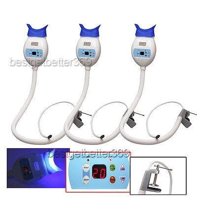 3 Dental Teeth Whitening Accelerator Led Bleaching Lamp Light Hold Machine Rd