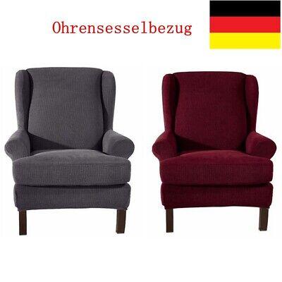 Elastisch Jacquard Sesselbezug Sessel-Überwürfe Ohrensessel Überzug Sesselhusse