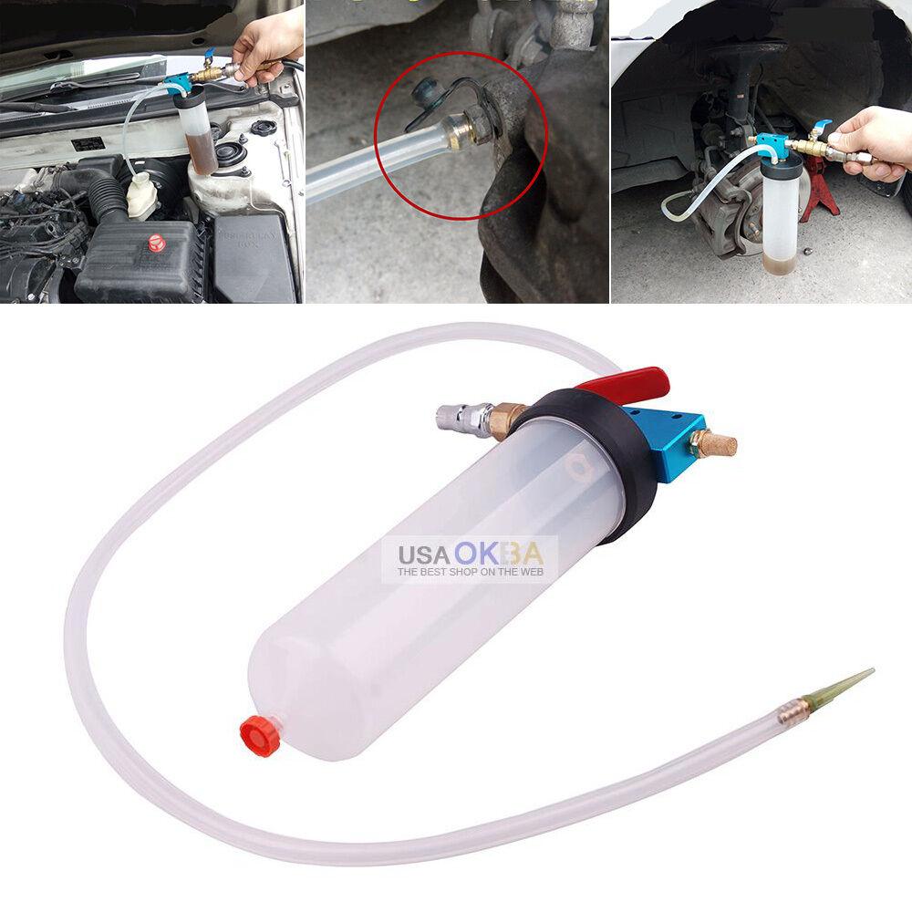 Car Brake Fluid Replacement Tool Pump Oil Bleeder Empty