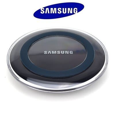 Genuine Samsung Wireless Qi Fast Charger Station PAD For Galaxy S6 S7+ Plus Edge