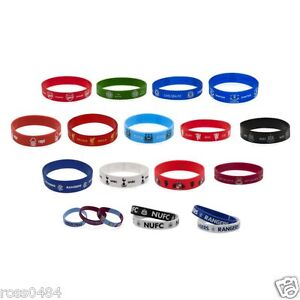 Football-Silicone-Wristband-Band-OFFICIAL-Christmas-Xmas-Birthday-Gift