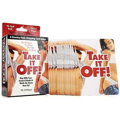 Take It Off! - Adult Fun Party Card