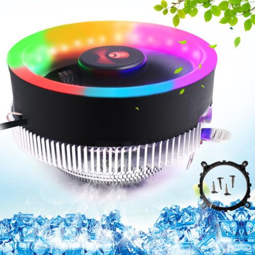 Colorful 3Pin LED CPU Cooler Fan For Intel LGA 1151 1150 AMD