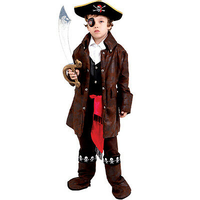 Dress up America Cute Caribbean Pirate Costume For - Pirate Costume For Males