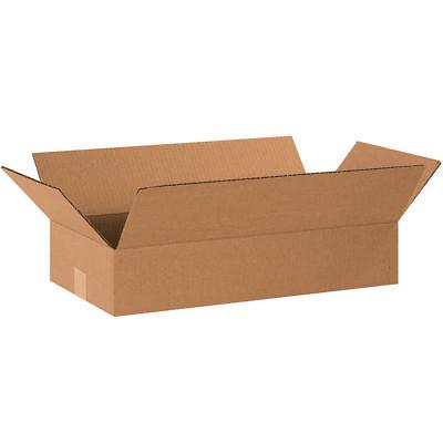 25 20x10x4 Cardboard Shipping Boxes Long Corrugated Cartons