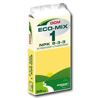 Dcm Profesional Ecológico Mezcla 1 25kg Fertilizante Universal Basisdünger Abono