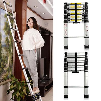 3.2m New Multi-Purpose Aluminium Telescopic Ladder Extension Extendable Builders