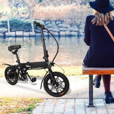 Megawheels 14'' Bicicleta eléctrica Plegable para Adultos 250W