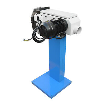 Industrial Grinder 1.5hp 4 Inch X 48 Inch Surface Radius Belt Grinder 220 Volts
