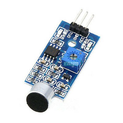 Voice Sound Detection Sensor Module 3pin For Arduino Diy Intelligent Smart