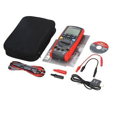 Uni-t Ut71a True Rms Usb Dmm Intelligent Digital Multimeter Amp Ohm Cap Tester