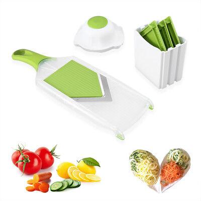 4in1 Gemüseschneider V Multischneider Zerkleinerer Küchenhelfer Gemüsehobel NEU