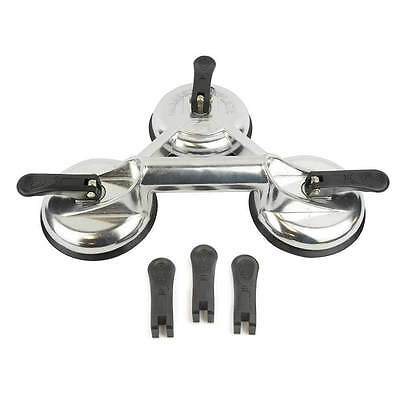 4-1/2 Inch Diameter 3 Jaw Glass, Dent & Metal Puller Suction Cups / Plate BR8657 (2 3 Jaw Puller)