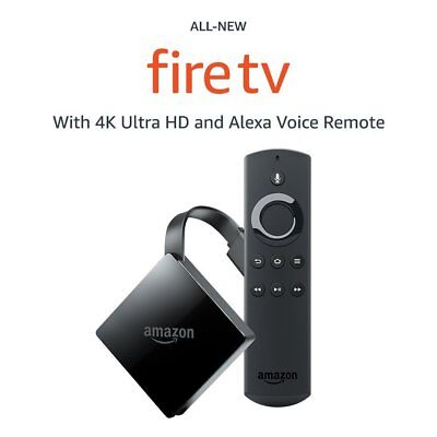 Amazon Fire TV Box w/Alexa Voice Remote Digital HD Media Stream 3rd Gen TV Stick