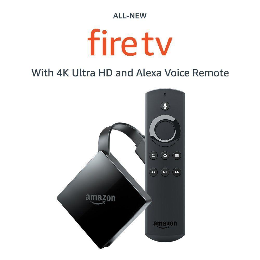 Amazon Fire TV Box w/Alexa Voice Remote Digital HD Media Stream 3rd Gen TV Stick