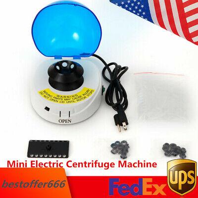 Mini Electric Centrifuge Machine Lab Tabletop Centrifuge 4000rpm Professional Us