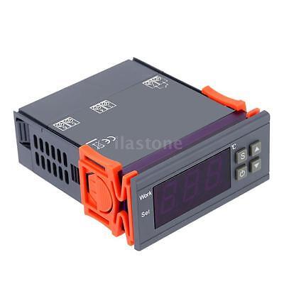 10A 110V Digital Temperature Controller Temp Sensor Thermostat 90~250V MH1210W