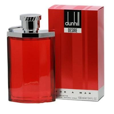 - DESIRE RED by Dunhill Cologne for Men 3.3 oz / 3.4 oz edt NEW in BOX