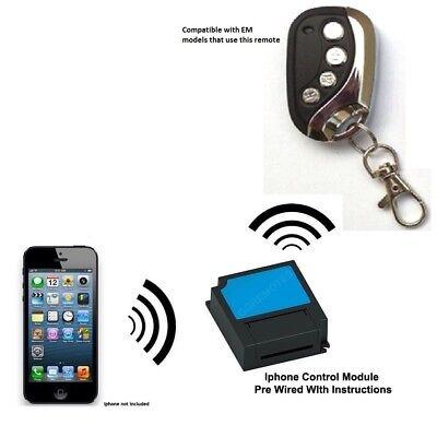 Iphone Remote Control Your Ahouse EM EM2 EM3 Plus Swing Gate Opener