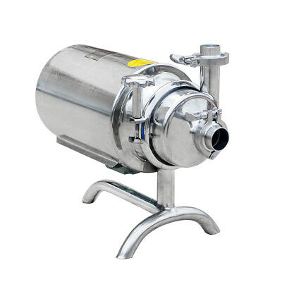Stainless Steel Sanitary Pump Sanitary Beverage Milk Delivery Pump 3th 0.75kwus
