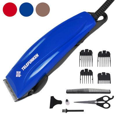 Telefunken Haarschneider Haarschneidemaschine Barttrimmer Rasierapparat Set