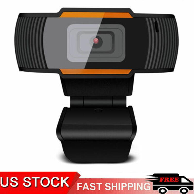 HD 720P Webcam Microphone Auto Focusing USB Web Camera For PC Laptop & Desktop