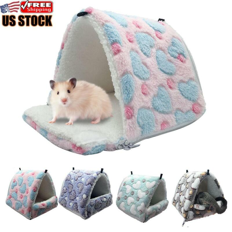 Cotton Pet Nest Hanging Warm Bed For Squirrel Hamster Guinea Pigs Hanging Cage