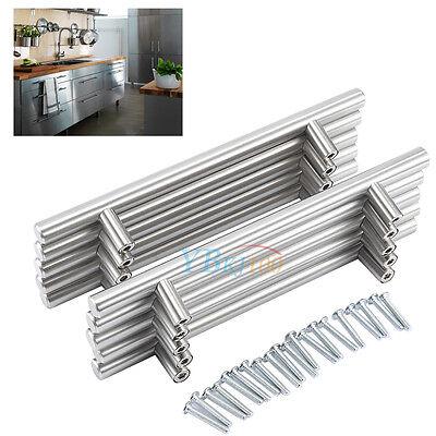 T Bar Kitchen Cabinet Door Handle Cupboard Drawer Furniture Handles Pull 20pcs